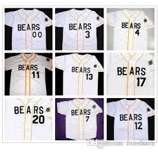 Bad News Bears 12 Tanner Boyle 3 Kelly Leak Baseball Jersey Bail Bonds 4 7 11 13 14 17 20 22 33 44 77 Stitched Numbers