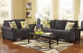Walnut Living Room Furniture Sets Elegant Leather Couch Palmer Walnut Living Room Sofas Set Ashley