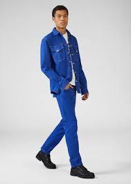 <b>Versace Jeans</b> Couture Heritage Gold <b>Metal</b> Hardware Slim <b>Jeans</b> ...