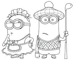 deable me coloring pages to print 2 minions