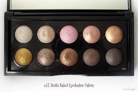 e l f studio baked eyeshadow palette in texas