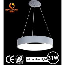 contemporary led hanging lamps for hotel made of metal acrylic