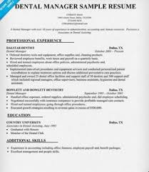 dental office manager resume sample httpgetresumetemplateinfo3682 office manager resume examples