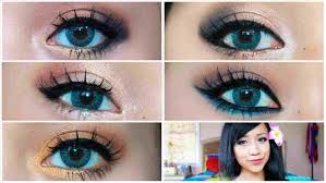 homeing makeup for blue eyes profesional hairstyles