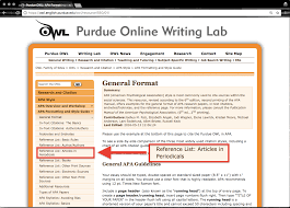 Purdue Owl Mla Research Paper Example