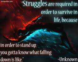 Popular Struggle Quote About Survive In Life Goluputtar