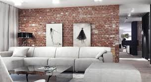 Red brick furniture Old Brick The Weathered Look Of This Read Brick Is Balanced By The Color Tone Of The Rest Pursuitofparadiseco 38 Beautiful Living Rooms With Exposed Brick Walls