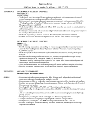 Security Engineer Resume Sample Information Security Engineer Resume Samples Velvet Jobs 19