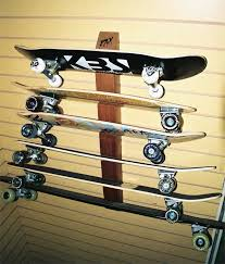 Bordz-Up Skateboard Display and Storage Rack