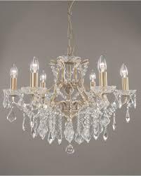 eden chandelier brushed gold 6 light glass crystal ceiling light for brushed gold chandelier