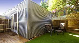 convert shed to office. Granny Flat Conversion Example - External Convert Shed To Office C