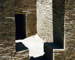 new mexico home decor: photography chaco canyon nm new mexico pueblo stonework dry masonry fine art print shadows home decor x x x wall art