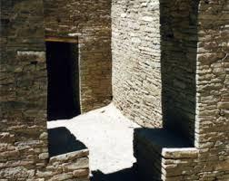 new mexico home decor: photography chaco canyon nm new mexico pueblo stonework dry masonry fine art print shadows home decor x x x wall art