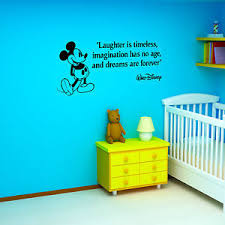 image is loading mickey mouse laughter is timeless walt disney vinyl  on wall art stickers quotes ebay with mickey mouse laughter is timeless walt disney vinyl wall art sticker