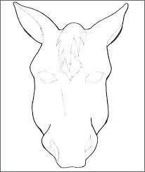 horse face coloring page. Wonderful Horse Horse Head Coloring Pages Printable Face Page  Colouring Mask Children For   On Horse Face Coloring Page
