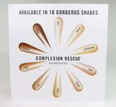 Bareminerals Complexion Rescue Swatches And Review