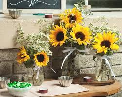 Sammeln Sie Inspiration Für Eine Schöne Sommerdeko Mit Sonnenblumen
