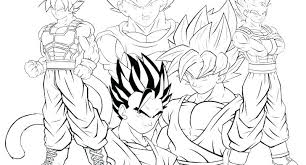 Dragon Ball Super Vegeta Coloring Pages Z Saiyan 4 Entertaining