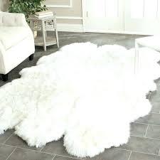 charming faux fur rug medium size of area rugs elegant gratifying grey bright gray white full luxury faux sheepskin rug