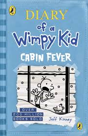 Light Blue Diary Of A Wimpy Kid Book Diary Of A Wimpy Kid Cabin Fever Book 6 Amazon Co Uk