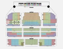 Orpheum Theater San Francisco Seating Chart Inspirational