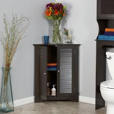 Amazon RiverRidge Home Ellsworth 3 Shelf Corner Cabinet