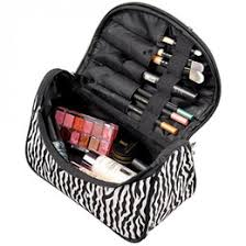 striped lady cosmetic bag pouch make up organizer bag women cosmetic makeup case lady travel organizer female toiletry bag