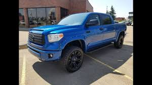 2018 toyota blue. beautiful blue 2017 toyota tundra crewmax platinum lifted truck in blazing blue full walk  through inside 2018 toyota