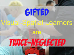 gifted visual spatial learners are twice neglected crushing tall poppies