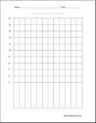 Blank Bar Graph Blank Bar Graph To 20 By 2s Abcteach