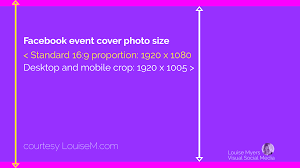 16 9 Template Whats The Correct Facebook Event Image Size 2019 Update