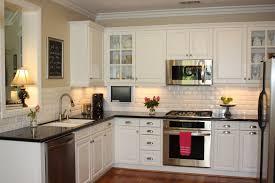 white kitchen cabinets with black best photo gallery kitchen ideas with white cabinets and black