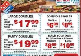 dominos coupon today
