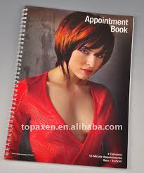 FUN \u0026 FUNKY 4 COLUMN HAIRDRESSING APPOINTMENT BOOK, View Product Details from Topaxen Hair Beauty