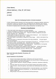 Dental Assistant Cover Letter And Experience Certificate Sample For