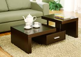 Living Room Table Decorating Unique Coffee Table For Home Interior Decor
