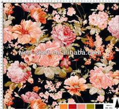 Flower Printed Paper Multi Rose Flower Printed Paper For Fashion Garments And Hometextiles Buy Heat Transfer Paper Transfer Printing Paper Sublimation Transfer Printed