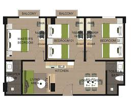 Three Bedroom Apartment Suites