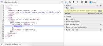 How to step through your code | Tools for Web Developers | Google ...