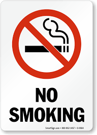 No Smoking Signage No Smoking Signs No Smoking Sign High Quality Fast Shipping