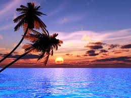 Beautiful Beach Sunsets HD Wallpaper Background Images