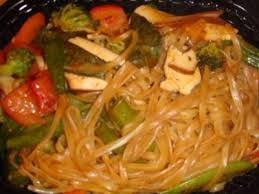 the egg noodles can be found in the noodles section of the pei wei menu along with the lo mein noodles en the rice noodles the lo mein noodles