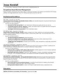 Digital Assets Management Resume Accounts Receivable Resume ...