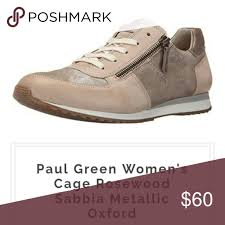 Paul Green Shoe Size Chart Paul Green Sabbia Sneakers Worn Lightly Like New Shoes