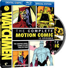 watchmen the complete motion comic blu ray review theaterbyte
