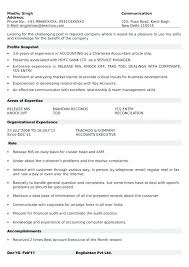 Ideal Resume Format – Goodvibesbrew.com