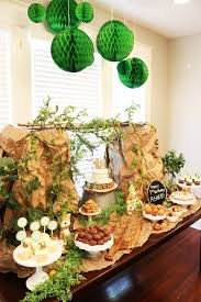 Asher\u0027s Woodland Themed First Birthday   At Home With Natalie ...