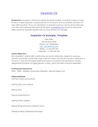 Cover Letter Carpenter Resumes Carpenter Resumes Examples