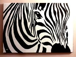 zebra canvas acrylic painting by patrissaart deviantart com on deviantart