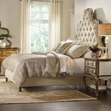 Sanctuary Upholstered Panel Bed